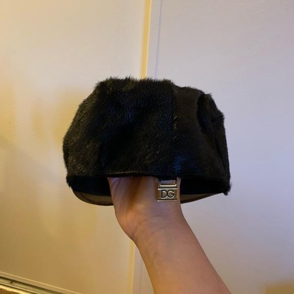 Dolce & Gabbana Accessories - Dolce and Gabbana goat skin hat